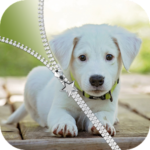 Download Puppy Zipper Lock Screen for PC