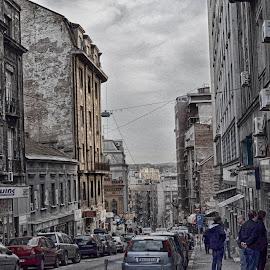 by Katarina Nikic - City,  Street & Park  Street Scenes