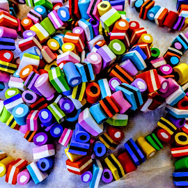Licquorice All-Sorts  by Ian Popple - Food & Drink Candy & Dessert ( bracelet, colourful, sweets, licquorice all-sorts )