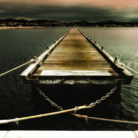 pontoon by Y Y - Landscapes Waterscapes
