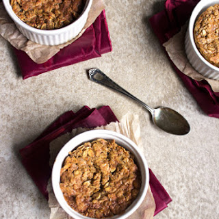 Brown Sugar & Molasses Baked Oatmeal