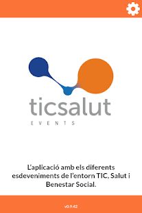 TicSalut's guide for events - screenshot