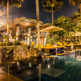 Novotel Palembang's Pool by Cuandi Kuo - Buildings & Architecture Other Exteriors