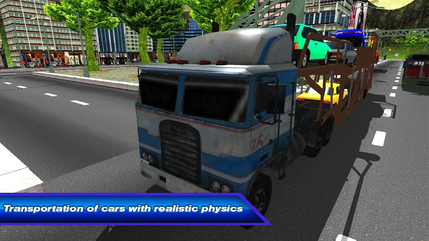 android Car Transporter Truck 3D Screenshot 0