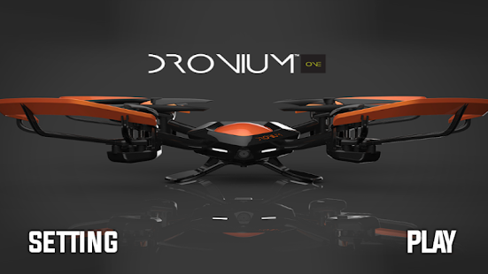 how to connect dronium one to phone