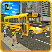 Download Full School Bus Coach Simulator 3D 1.3 APK