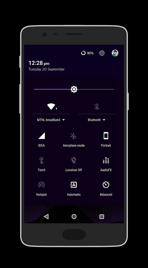 PolyUI CM13/12x Theme Screenshot 1