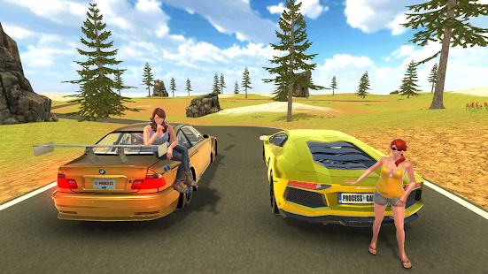 Game Aventador Drift Simulator APK for Kindle
