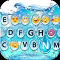 APK App Water Bubble Keyboard & Emoji for BB, BlackBerry