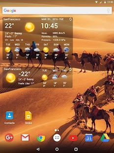 App Temperature&Live Weather free APK for Kindle
