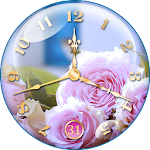 Rose Clock Live Wallpaper  APK
