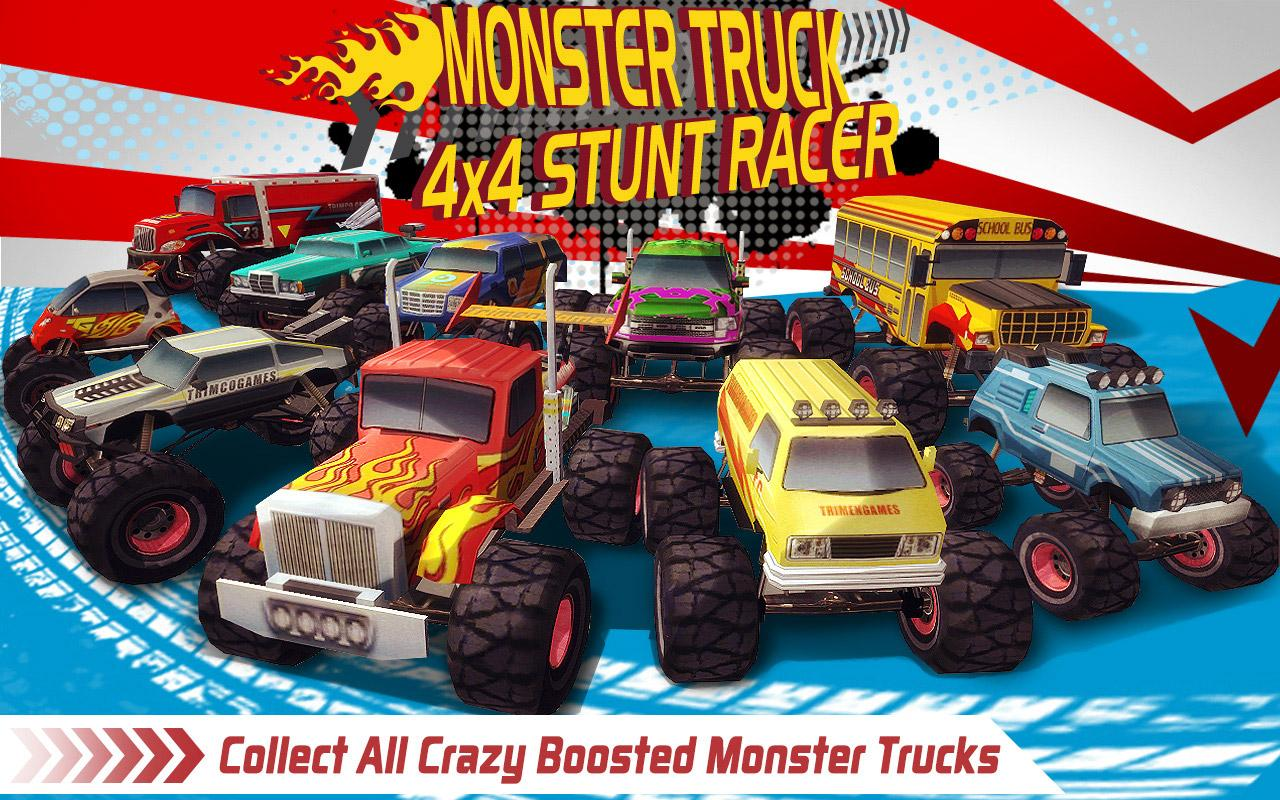 Monster Truck 4x4 Stunt Racer Screenshot 3