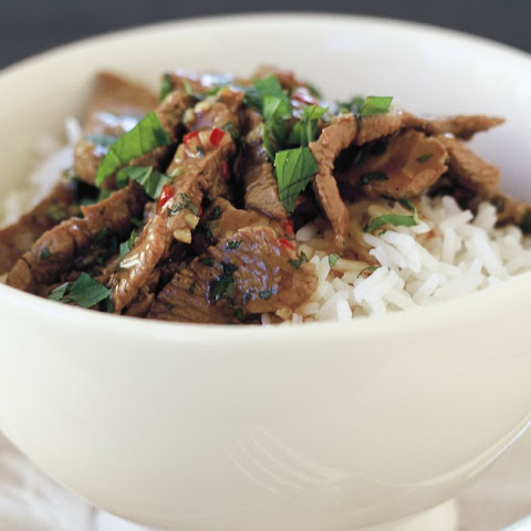 Stir-fry Lamb With Chilli And Mint