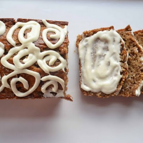Maple Cinnamon Bun Quick Bread