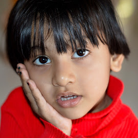 Happy! or Sad! by Amit Kumar - Babies & Children Child Portraits
