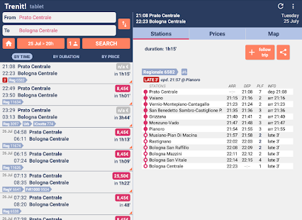 App Trenit: find trains in Italy APK for Windows Phone
