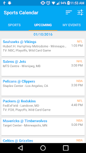 Sports Calendar   Android Apps On Google Play