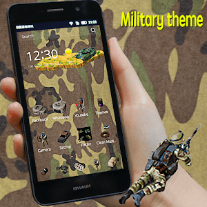 Military army icons theme for Android