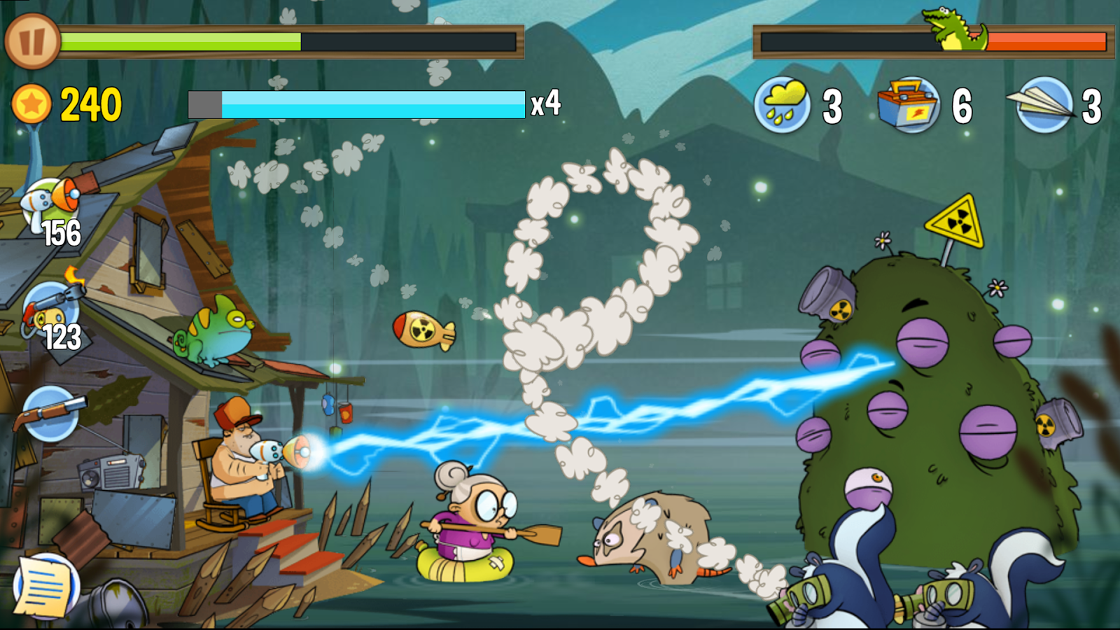 Swamp Attack Screenshot 7