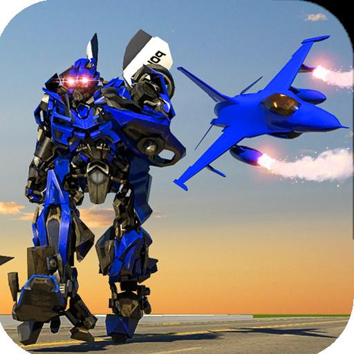 Police Robot Aircraft War (game)