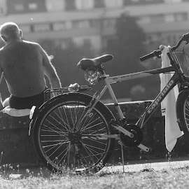 Memories by Dragana Dušanić - People Portraits of Men ( memories, nikon, photography, man, bicycle,  )