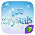 Ice Crystals GO Keyboard Theme APK for Bluestacks