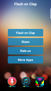 Flashlight on Clap APK for Blackberry