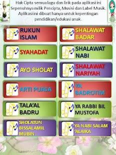 lagu anak muslim&shalawat anak- screenshot thumbnail