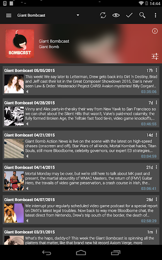 Podcast Addict - Donate screenshot 11