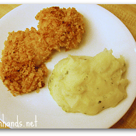 Cornflake-Crusted Baked Chicken