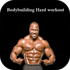Bodybuilding hard workout