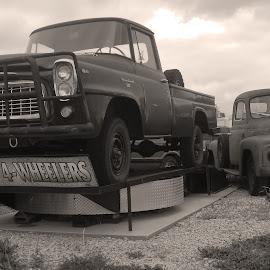 Doug's 4-Wheeler by Howard Mattix - Transportation Other ( off road vechicles, trucks, $ wheelers, antiques )