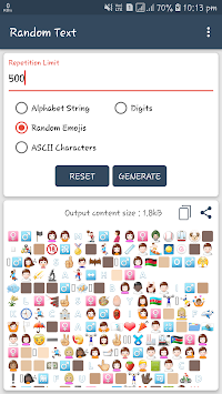 Text Repeater By CentroidApps APK screenshot thumbnail 4