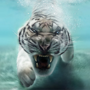 Tiger Live Wallpaper Online PC (Windows / MAC)