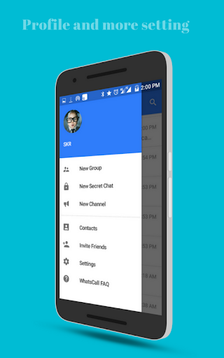 WhatsCall : Chat, Stickers, Free Call - Messenger