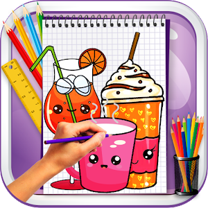 Learn to Draw Cute Drinks & Juices For PC / Windows 7/8/10 / Mac – Free Download