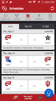 Screenshot of Western Kentucky Gameday