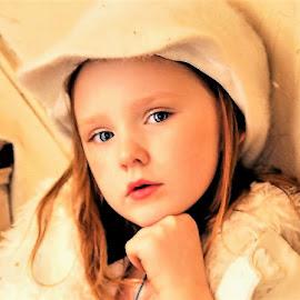 What Where You Thinking? by Cheryl Korotky - Babies & Children Child Portraits