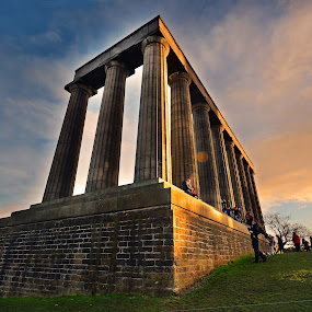 Calton Hill, Edinburgh by Craig Fraser - Buildings & Architecture Statues & Monuments