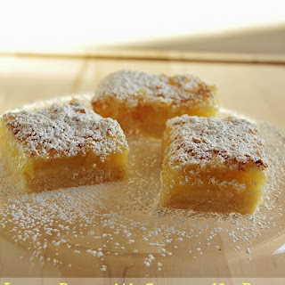 Lemon Bars with Summer Ale Beer