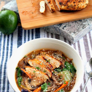 Panera?s Soba Noodle Broth Bowl with Chicken - Copy Cat