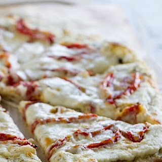 White Pizza Recipe with Roasted Tomatoes