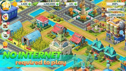 Town City - Village Building Sim Paradise Game 4 U screenshot 5