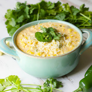 Jalapeño and Sweet Corn Chowder