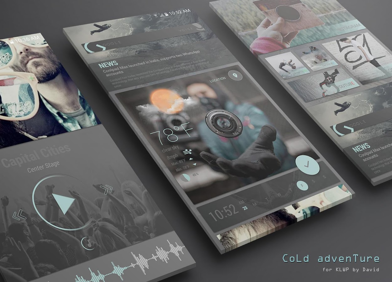CoLd advenTure for KLWP Screenshot 1