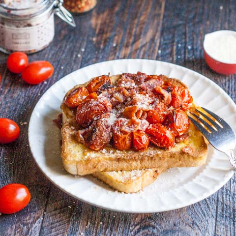 Tomato Bacon French Toast