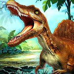 Dinosaur Hunter 3D Survival Adventure Free Game Icon