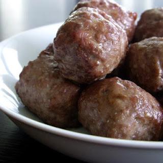 Almond Meatballs Recipes