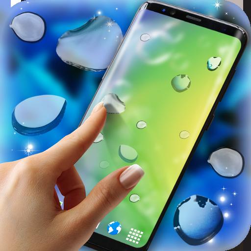 Rain Drops Magic Touch on Screen (app)