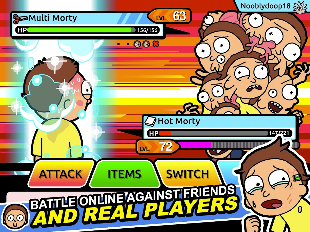 Pocket Mortys Screenshot 6